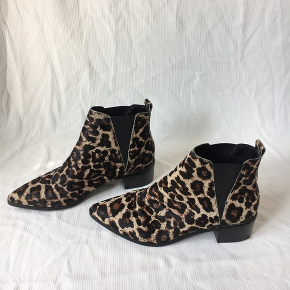 4adee93848d Easton Leopard Print Chelsea Booties. M 5ace33418df470dc6fe7cb7e. Other  Shoes you may like. Treasure and Bond ...